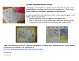 Reading Street Sight Word Story Unit 3 Week 3