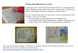 Reading Street Sight Word Story Unit 5 Week 2