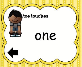 SMARTboard Reading Street Sight Word Workout Kindergarten Units 1-6