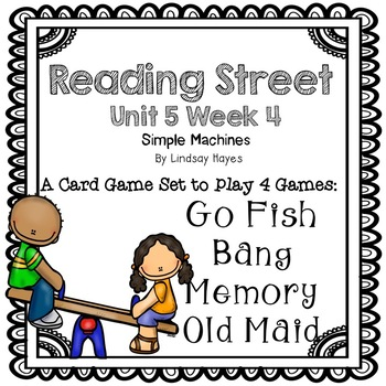 Reading Street: Simple Machines 4-in-1 Spelling and HFW Games