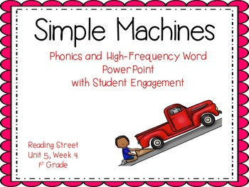 1st Grade Interactive PowerPoint, Simple Machines, Unit 5