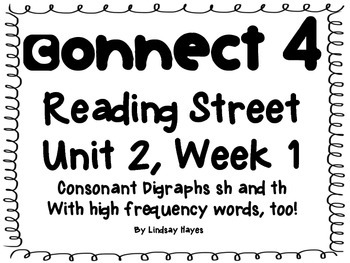 Reading Street Skills Connect 4