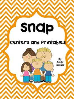 Reading Street, Snap,  Centers and Printables For All Abil