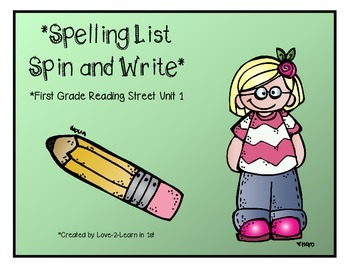 Reading Street Spelling 1