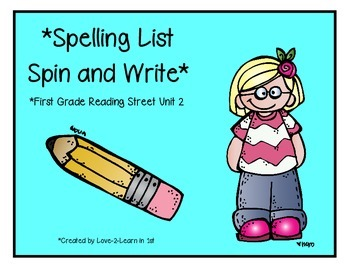 Reading Street Spelling