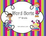 Bundled Word Sorts (First Grade)