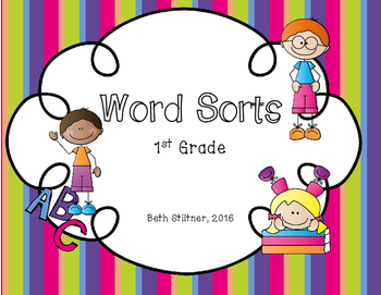 Bundled Word Sorts (First Grade)