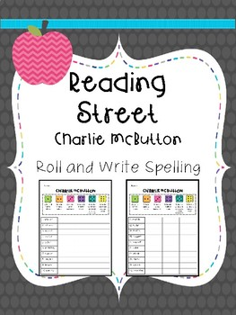 Reading Street: Spelling Roll and Write FREEBIE for Third Grade