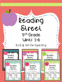Reading Street: Spelling Roll and Write FULL YEAR BUNDLE f