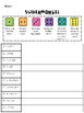 Reading Street: Spelling Roll and Write Unit 1 for Third Grade