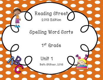 Reading Street Spelling Unit 1