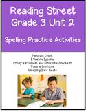 Reading Street Spelling Unit 2 Grade 3