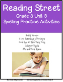 Reading Street Spelling Unit 5