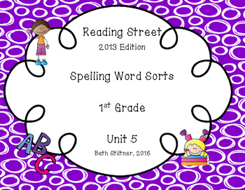 Reading Street Spelling Unit 5