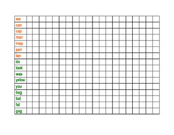Reading Street - Spelling Word Checklist