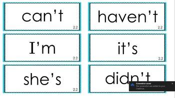 Reading Street Spelling Words Units 1-6