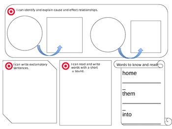 Reading Street Student Focus Boards: Unit 1 2013 Common Core Edition