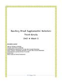 Reading Street Supplemental Materials Grade 3 Unit 4 Week 1