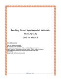 Reading Street Supplemental Materials Grade 3 Unit 4 Week 2