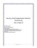 Reading Street Supplemental Materials Grade 3 Unit 4 Week 3