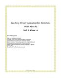 Reading Street Supplemental Materials Grade 3 Unit 5 Week 4