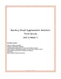 Reading Street Supplemental Materials Grade 3 Unit 6 Week 1
