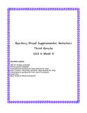 Reading Street Supplemental Materials Grade 3 Unit 6 Week 2