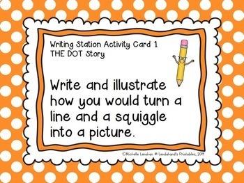 Reading Street, THE DOT, Teacher Pack by Ms. Lendahand:)