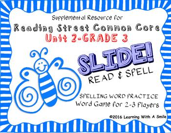 Reading Street THIRD GRADE SPELLING/CHALLENGE  U2 Word Gam