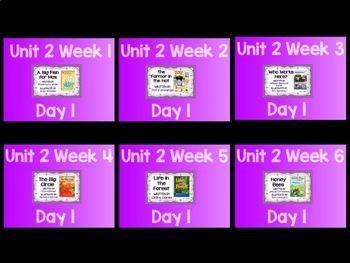Reading Street (TN 2013) Unit 2 Bundle Flipchart and Quickwrites