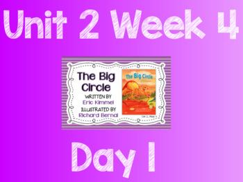 Reading Street (TN 2013) Unit 2 Week 4 The Big Circle Flipchart and Quickwrites