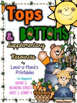 Reading Street, Tops and Bottoms Teacher Pack