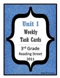 Reading Street Task Cards: Unit 1, 3rd Grade, 2011 edition