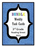 Reading Street Task Cards Bundle: All Units, 3rd Grade 2011 edition