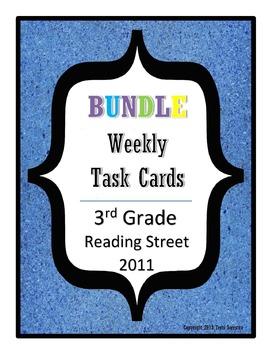 Reading Street Task Cards Bundle: All Units, 3rd Grade 201