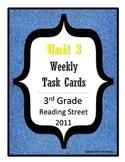 Reading Street Task Cards: Unit 3, 3rd Grade, 2011 edition