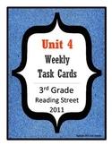 Reading Street Task Cards: Unit 4, 3rd Grade, 2011 edition