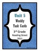 Reading Street Task Cards: Unit 5, 3rd Grade, 2011 edition