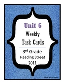 Reading Street Task Cards: Unit 6, 3rd Grade, 2011 edition
