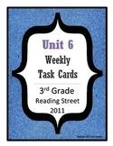 Reading Street Task Cards: Unit 6, 3rd Grade, 2011 edition