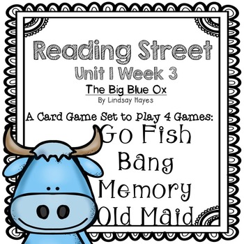 Reading Street: The Big Blue Ox 4-in-1 Spelling and HFW Games