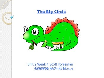 """Reading Street """"The Big Circle"""" Weekly PowerPoint"""