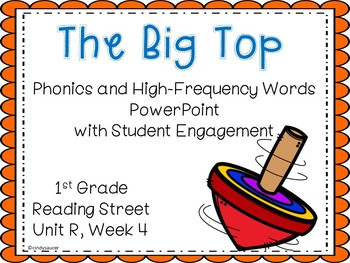 Interactive Powerpoint, The Big Top, Reading Street Unit R