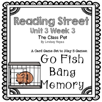 Reading Street: The Class Pet 3-in-1 Spelling and HFW Games
