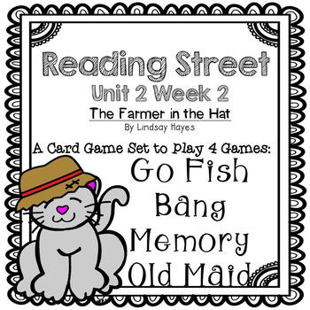 Reading Street: The Farmer in the Hat  4-in-1 Spelling and