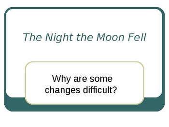 Reading Street The Night the Moon Fell Selection Vocabulary