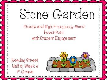 1st Grade Interactive PowerPoint, The Stone Garden