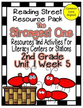 The Strongest One Reading Street Resource Pack 2nd Gr Unit