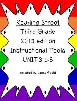 Reading Street - Third Grade - Instruction Tools Units 1-6