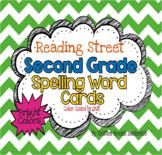 Reading Street Second Grade Spelling Word Cards (Bright)